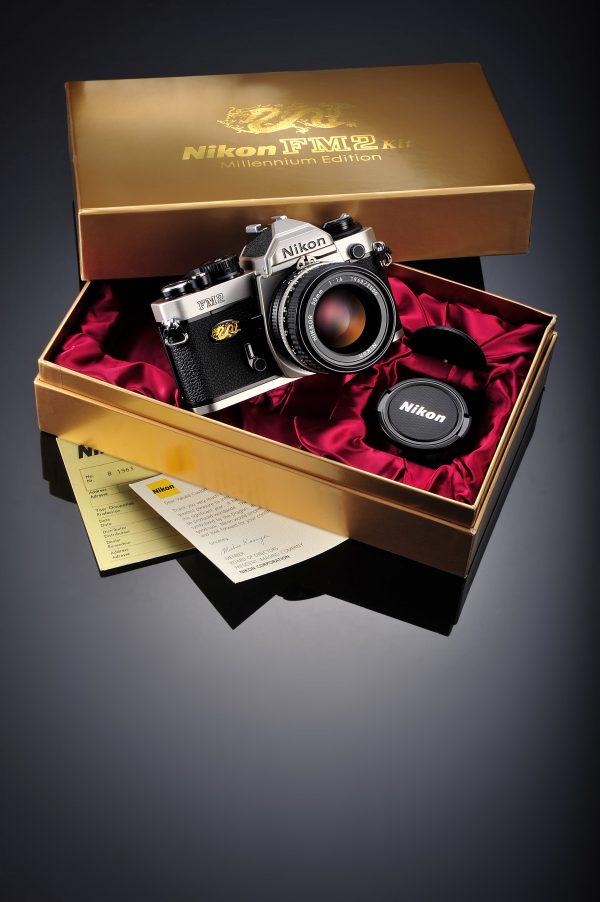 Secondhand-35mmfilmcameras - GrayFM2-Mill001-min