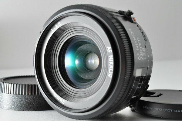 Secondhand-afnikkorlenses - 28mm-f2.8-AF-Nikkor-non-D-3