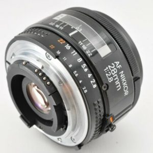 Secondhand-afnikkorlenses - 28mm-f2.8-AF-Nikkor-non-D