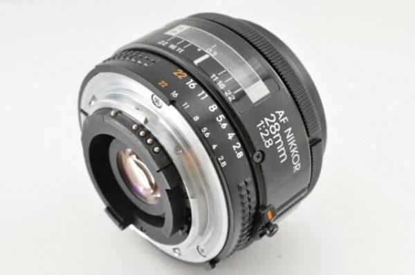 Secondhand-afnikkorlenses - 28mm-f2.8-AF-Nikkor-non-D