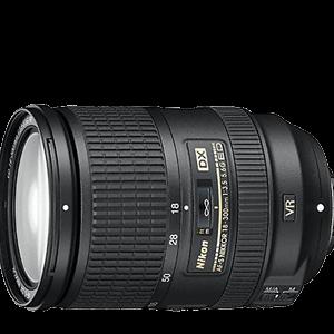 Secondhand-autofocuslenses - AF-S-DX-NIKKOR-18-300mm-f3.5-5.6G-ED-VR