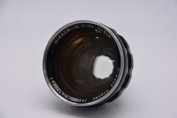 Secondhand-rangefinder-lenses - 5cm-f1.1-internal
