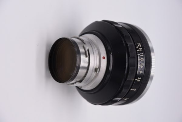 Secondhand-rangefinder-lenses - 5cm-f1.1-internal-rear