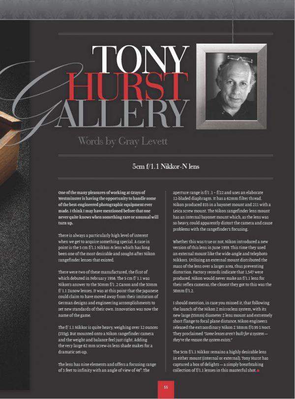 Tony Hurst photography