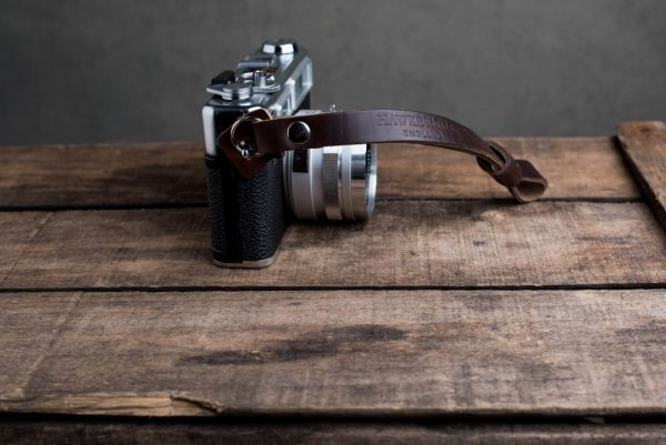 oxford-brown-riveted - Hawkesmill-Oxford-Brown-Leather-Camera-Strap-Nikon-Yashica-Electro-3